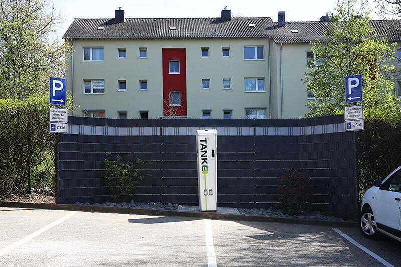 TankE-Ladesäule in der Schlagbaumer Straße 175, 42719 Solingen