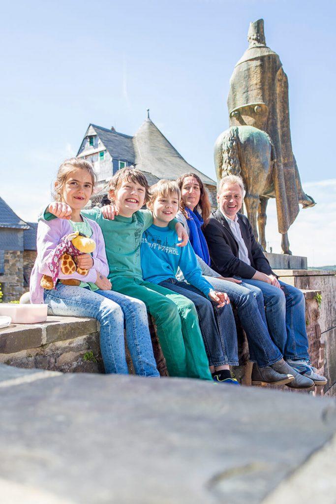 Schloss Burg Solingen Familie