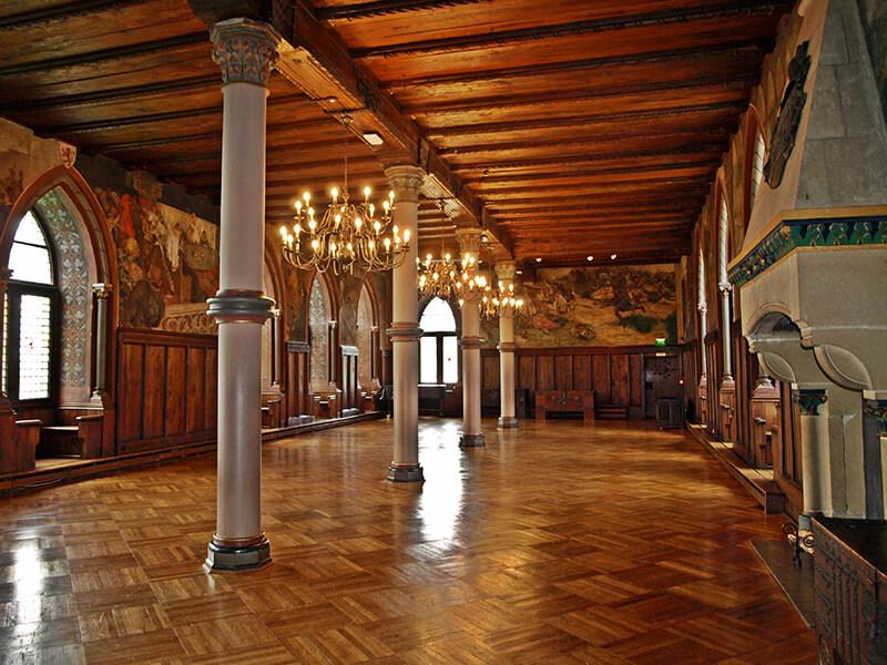 Schloss Burg Solingen Rittersaal