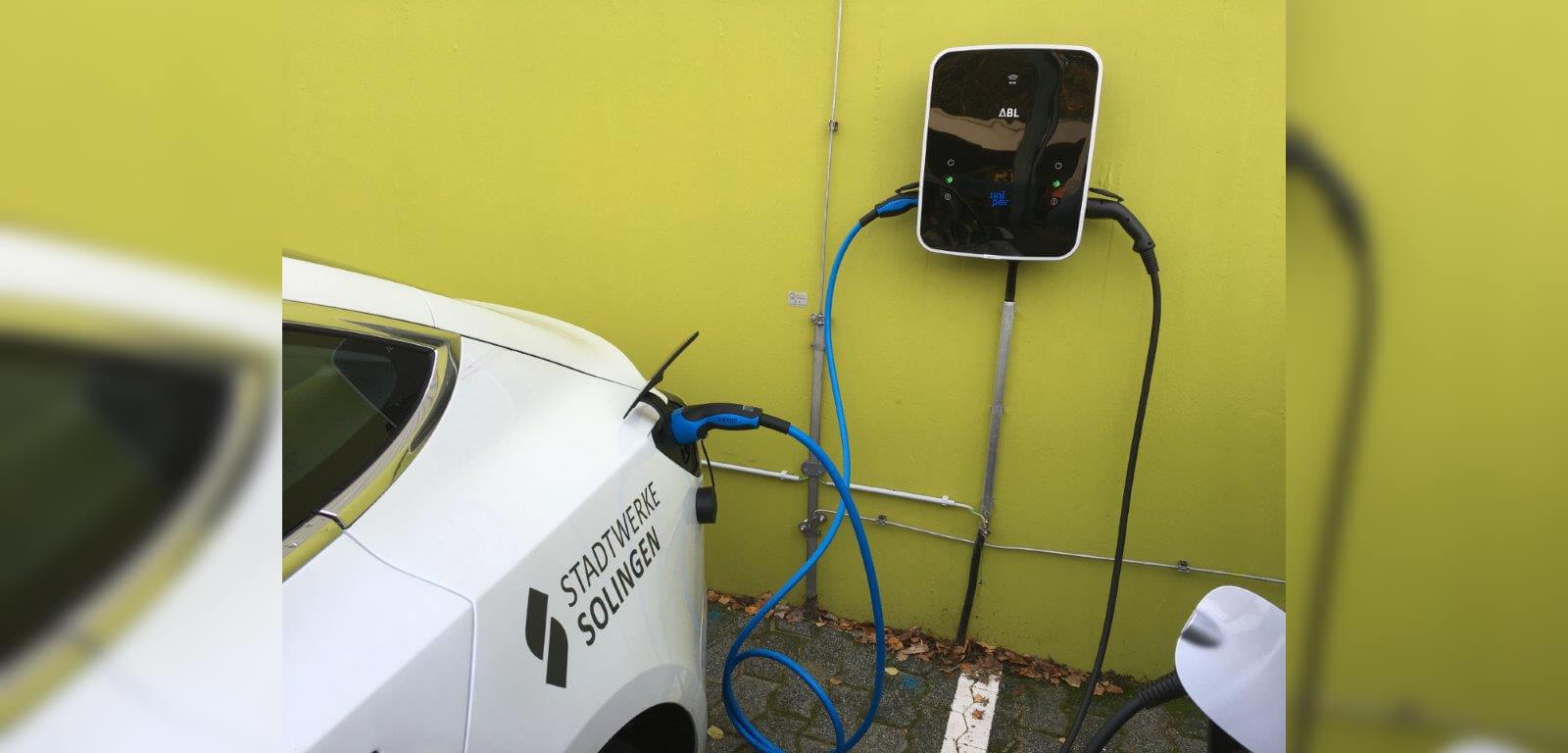 E-Auto an Wallbox Zuhause laden