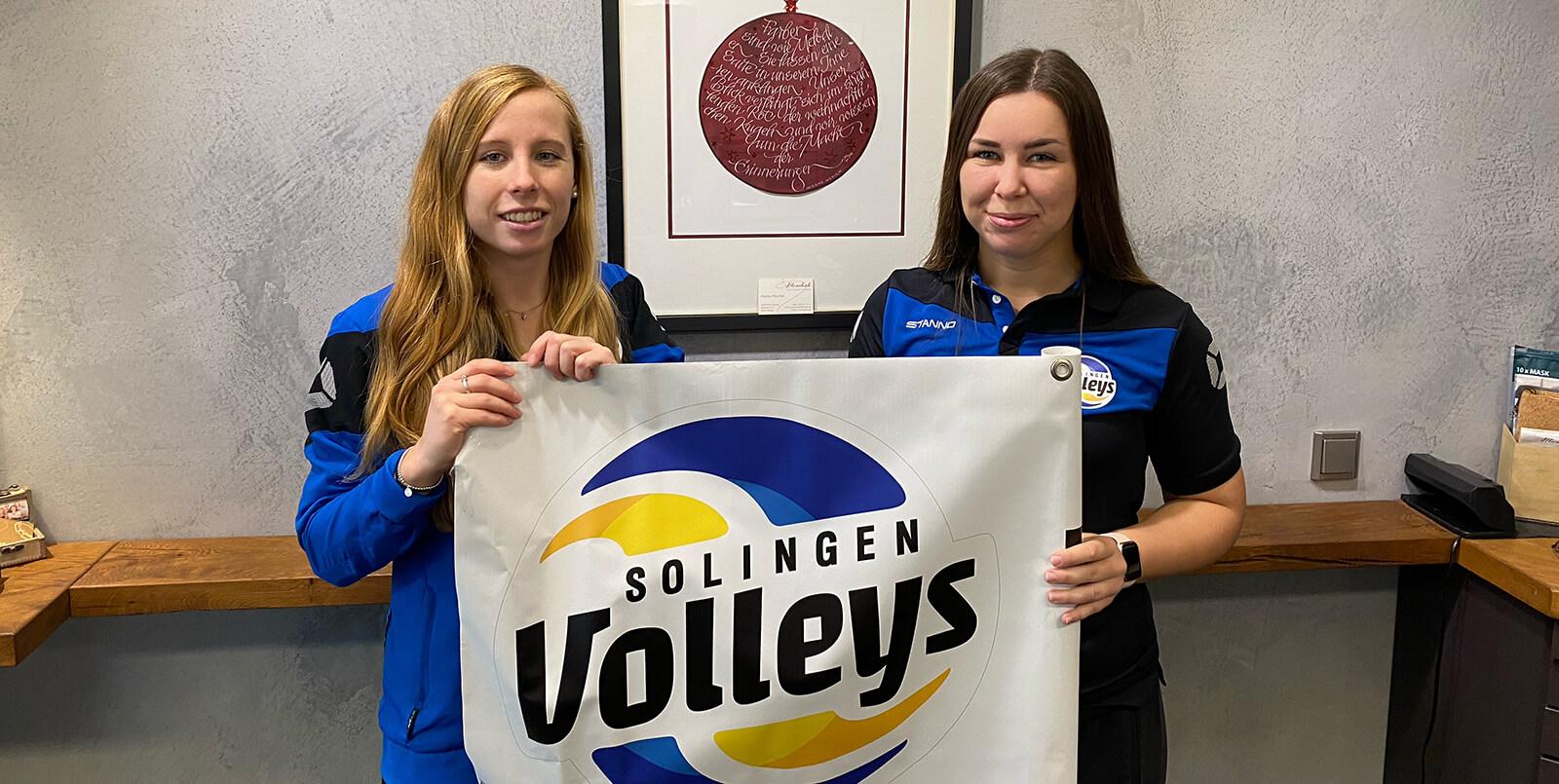 SolingenVolleys e.V.: Mira Augustin und Kim Grawunder