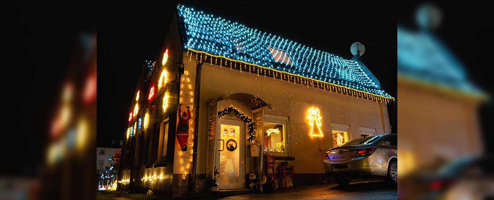 Weihnachtshaus Solingen 2019