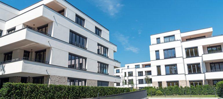 Modernes Appartementhaus