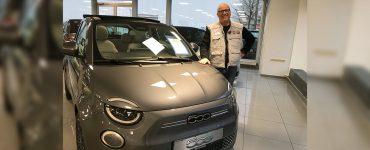 Oliver Vorwald Fiat 500e Autohaus Bertrand Solingen