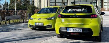 E-Autos der Stadtwerke Solingen