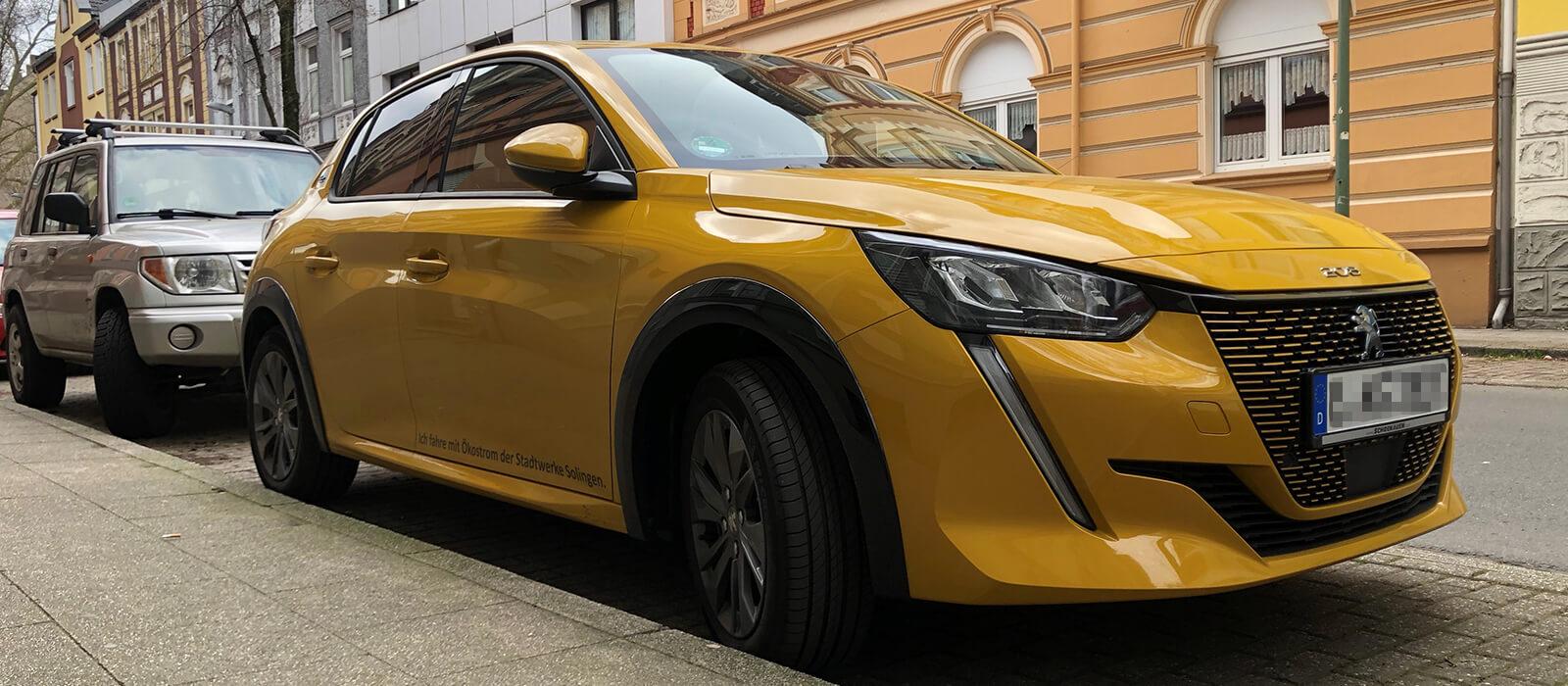 E-Auto - Peugeot e-208