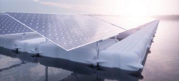 Floating Photovoltaikanlage